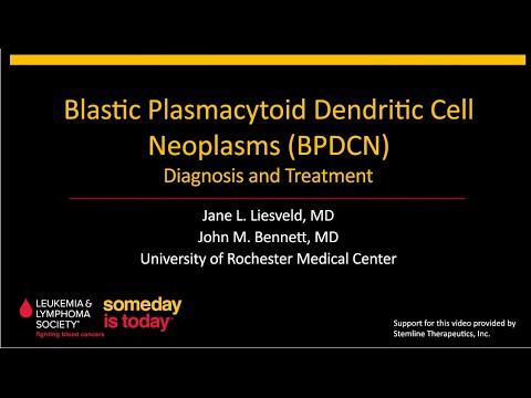 Blastic Plasmacytoid Dendritic Cell Neoplasm (BPDCN) - Diagnosis and Treatment