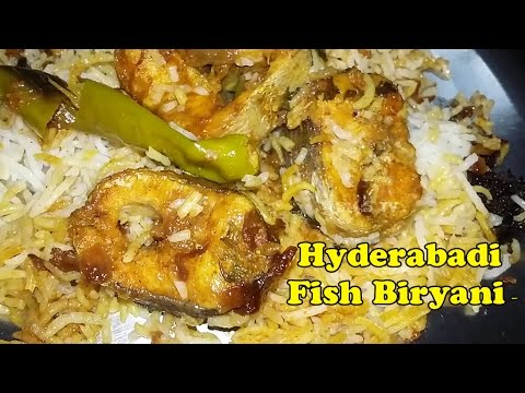 Fish Biryani - Very easy Hyderabadi Fish dum biryani recipe By Mana Vantlu