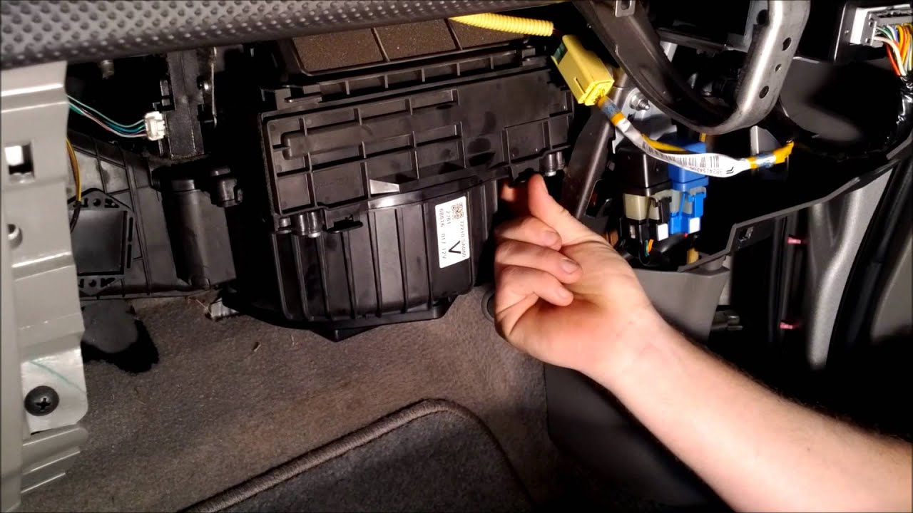 how to replace a cabin air filter on a subaru forester [ 1920 x 1080 Pixel ]