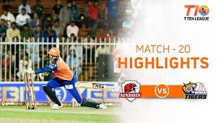 Match 20, Sindhis vs Bengal Tigers, T10 League Season 2