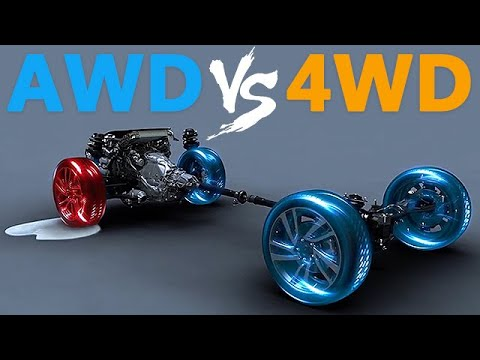 The Difference Between Awd Vs 4wd Youtube