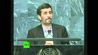 "Mahmoud Ahmadinejad at UN ""911 was an inside job"""