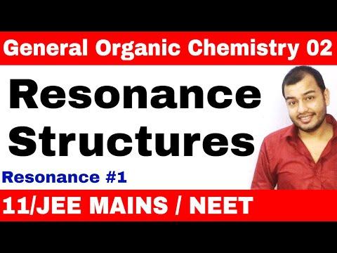 Organic Chemistry || GOC 02 || Resonance 01 : How to Draw Resonance Structures IIT JEE / NEET ||