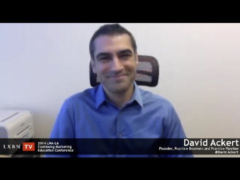 David Ackert explains how marketers can get lawyers motivated, previews the 2014 LMA CME Conference