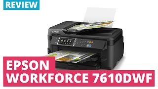 Epson Workforce WF-7610DWF A3+ Colour Multifunction Inkjet Printer