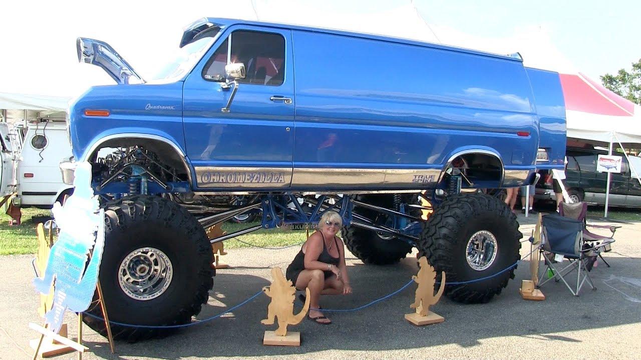 1979 Ford Econoline 4x4 Van Chromezilla By Bart Kilraine Iii Youtube