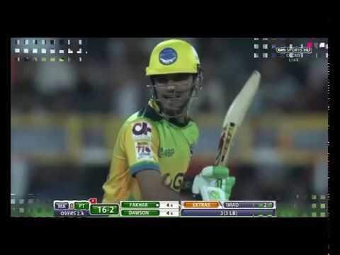 fakher zaman batting in t10 leage