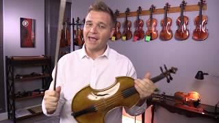 Fiddlershop Baroque Sample Violin (No. 107)