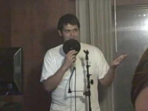 Hiram Diaz, karaoke extraordinaire