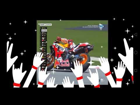 Motor GP Malaysia Valentino Rossi terjatuh saat balapan.. Mp3