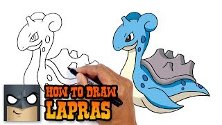 How to Draw Lapras | Pokemon