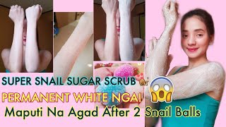 SUPER SNAIL SUGAR SCRUB BY:TWINS THAILAND Hindi po ito INSTANT WHIT...