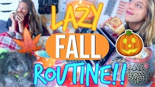 Lazy/Cozy Fall Day Routine!! | What to do on a Lazy Day!!