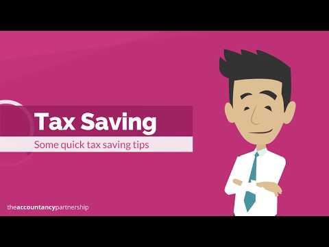 Tax Saving Tips - The Accountancy Partnership