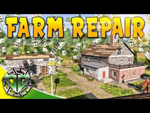 Farm Repair Complete : Farmer's Dynasty Gameplay (PC Early Access Simulator