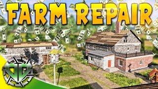 Farm Repair Complete : Farmer