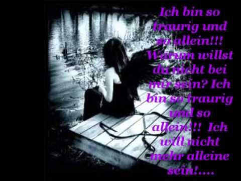 Anna Blue -So Allein   (lyrics)