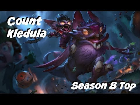 League of Legends: Count Kledula Top Gameplay