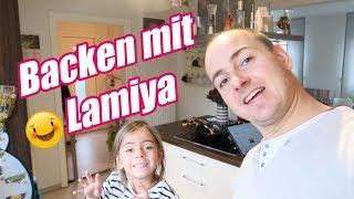 Backen mit Lamiya - Familien Alltag mit 3 Kindern - #Vlog 1062 Rosislife