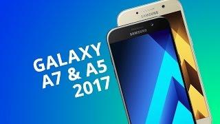 Samsung Galaxy A7 y Galaxy A5 2017 [Análisis/Review en español]