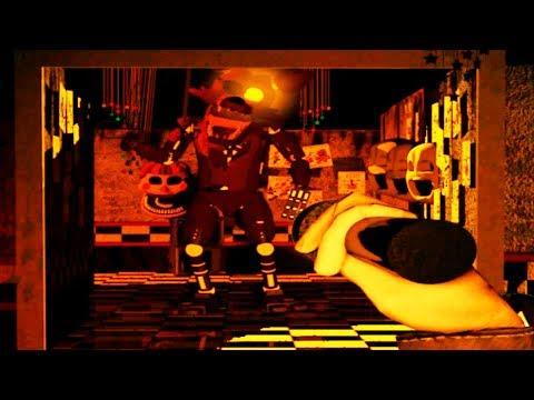 HUGE JACKO FOXY HUNTS ME DOWN! | Six Nights At Jack-O-Freddy's (Five Nights at Freddys)