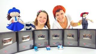 Серебряные Кнопки YouTube - Наши популярные каналы