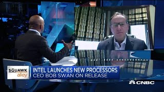 Intel CEO Bob Swan on the launch of new processors