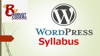 Wordpress tutorial in hindi Part- 2 | Wordpress Syllabus | Complete Syllabus of Wordpress