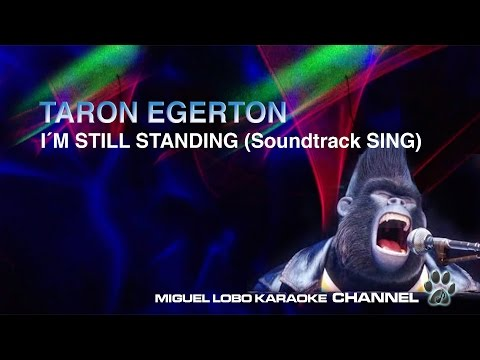 [Karaoke] Taron Egerton - I´m Still Standing  (SING Movie Soundtrack) - Miguel Lobo