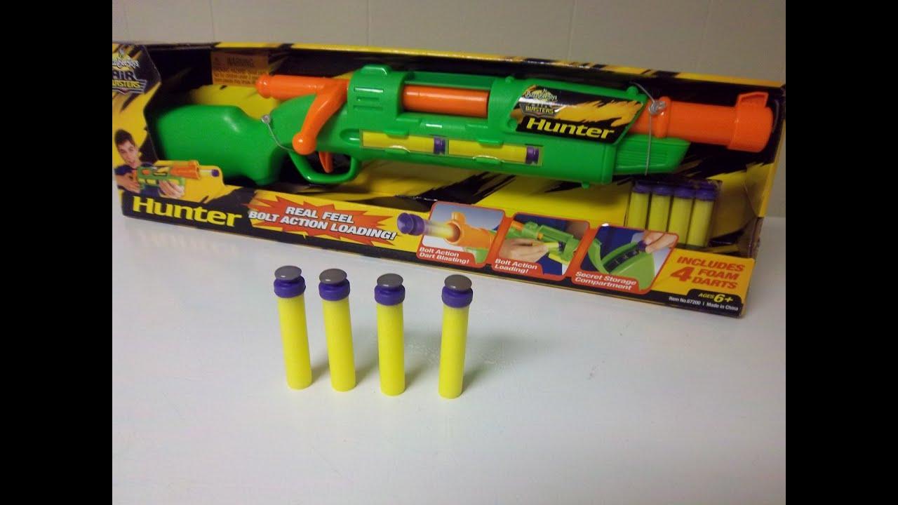 nerf gun dart mod & Hunter mod by Buzz Bee