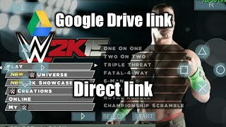 How to Download WWE 2k15 Psp Android (Drive link)