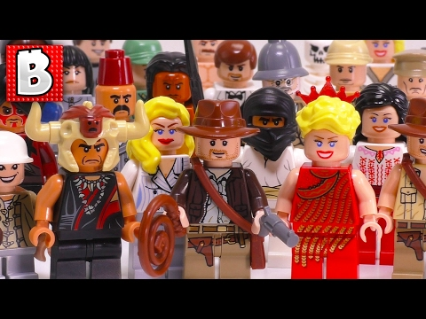 Every LEGO Indiana Jones Minifigure Ever Made!!! | Full Collection Review