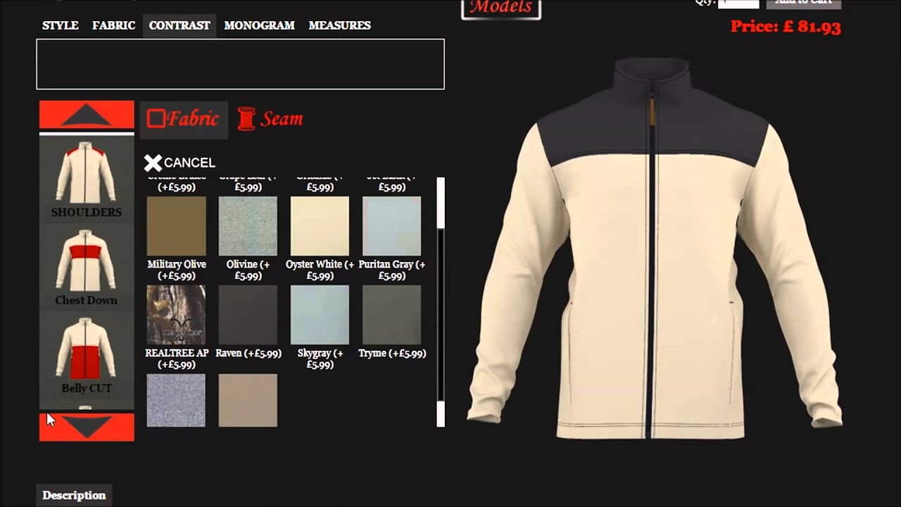 Pencheff Men Jacket Generator Make Jacket By Your Own Design Youtube