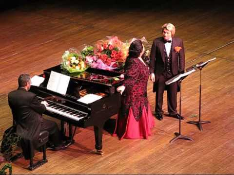A Special Valentine - Caballe / Baskov Concert - Avery Fisher Hall, Lincoln Center, New York, NY