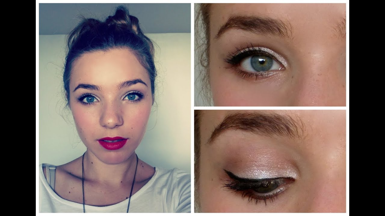 Populaire Maquillage de Noel ! #1 Simple et rapide - YouTube AL06