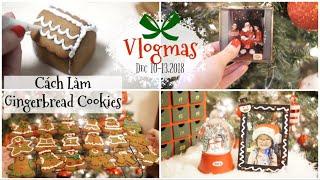 VLOGMAS 10-13,2018 ❅ Làm Bánh Cookies Cho Donut Tặng Bạn ❤︎ Đếm Ngược Đến Giáng Sinh | mattalehang