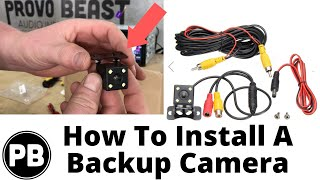 Car Backup Cameras Explained: How To Install On Your Car!