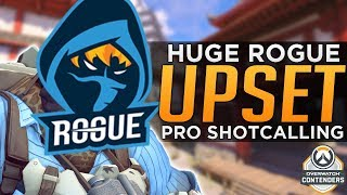 Overwatch: How PROS Win with Shotcalling! - Rogue Loses in Huge UPSET!
