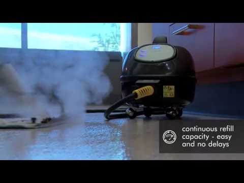 New nora® pro steamer|Occupied Spaces, Cleaned With Steam |nora® flooring