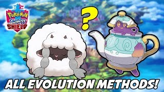How to Evolve Every Single New Pokemon in Pokemon Sword and Shield! All Evolution Methods [Spoilers]