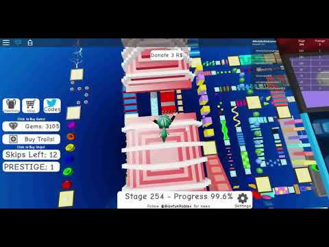 Roblox Mega Fun Obby 2 Hholykukingames Code Working Now - Roblox Mega Fun Obby 2 Hholykukingames Plays Stages 250 To 255 Plus Code