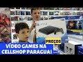 VÍDEO GAMES NA CELLSHOP PARAGUAI. PREÇOS. PS4, XBOX E ACESSÓRIOS