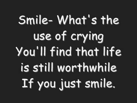 Smile charlie chaplin lyrics