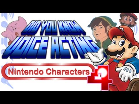 Nintendo Characters PART 4  Did You Know Voice Acting?