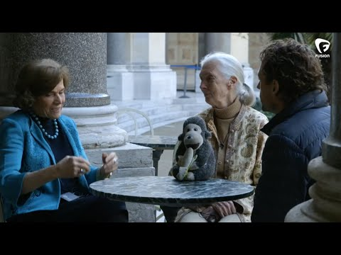 Fusion Meets Jane Goodall and Sylvia Earle the Advocates for our Planet