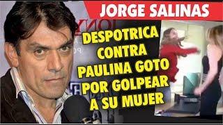 Jorge Salinas se le va a la yugular a Paulina Goto por Elizabeth Alvarez