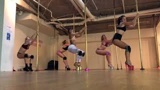 Pole Choreo with Maddie Sparkle