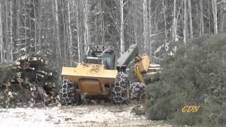535B Caterpillar Skidder