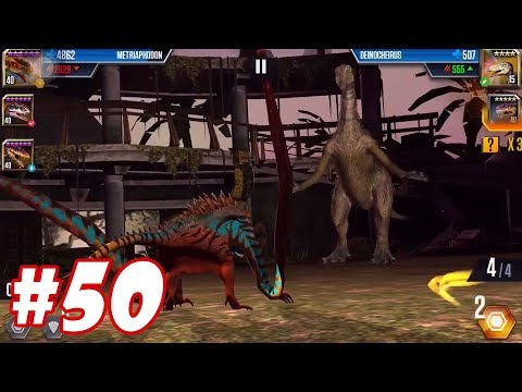 Hành trình đi tìm Tê giác thời tiền sử - Jurassic World The Game #50