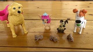 Мультфильм про собак Макс знакомится с маленькими щенками